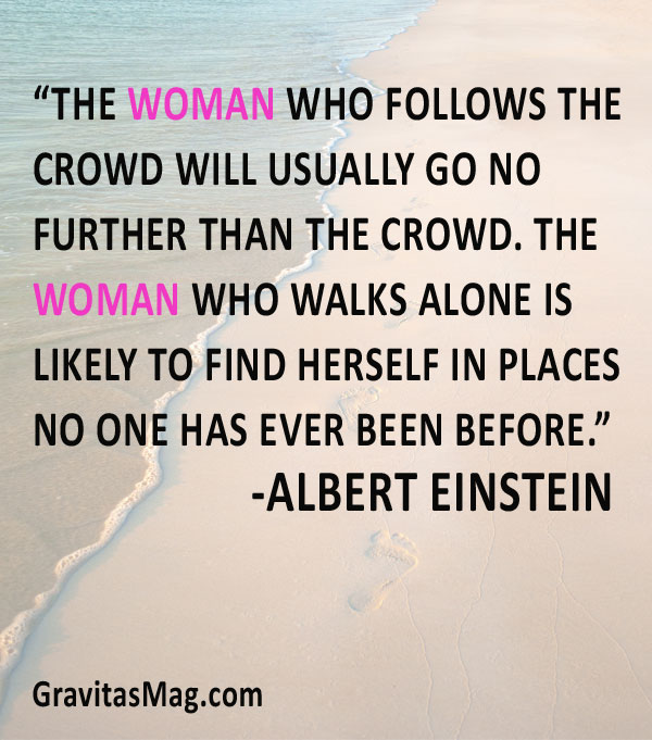 Woman-who-follows-the-crowd